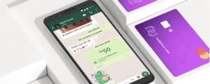 Nubank libera transferências via WhatsApp com cartão de débito